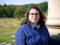 Hi-Resolution Author Photo of Julie R. Enszer. Photo Credit: Steffan Declue.